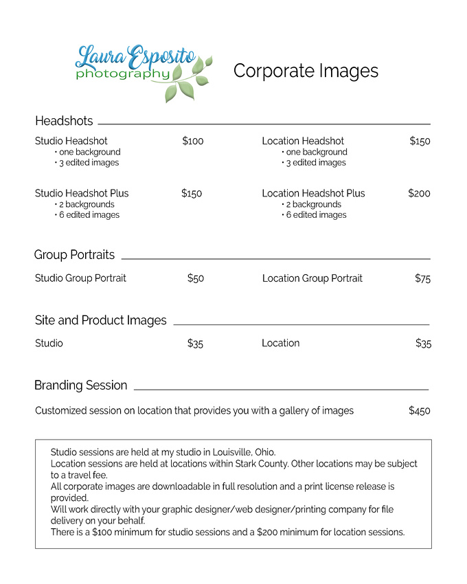 Corporate Headshot Investment Guide